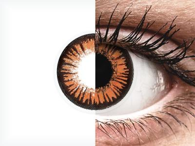 Здрач (Twilight) ColourVUE Crazy Lens - с диоптър (2 лещи)