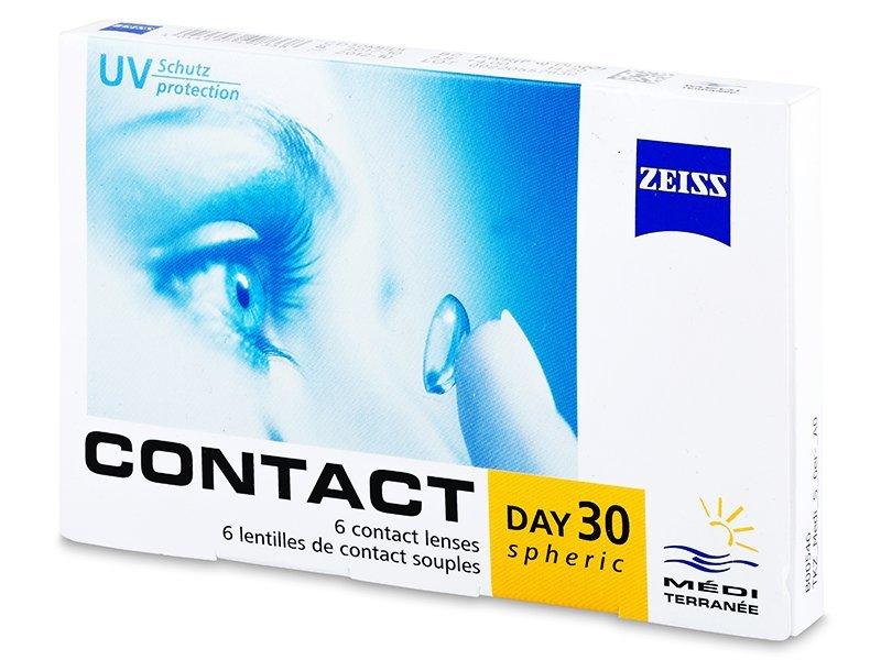 Carl Zeiss Contact Day 30 Spheric (6лещи) - Месечни контактни лещи