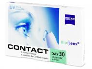 Евтини месечни контактни лещи онлайн - Carl Zeiss Contact Day 30 Compatic (6 лещи)
