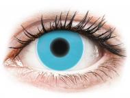 Maxvue Vision - цветни лещи - Сини, UV светещи (Blue) - ColourVUE Crazy Glow (2лещи)