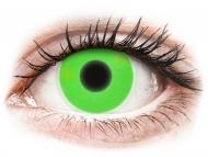 Maxvue Vision - цветни лещи - Зелени, UV светещи (Green) - ColourVUE Crazy Glow (2лещи)