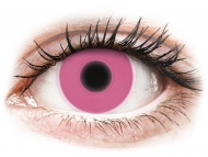 Maxvue Vision - цветни лещи - Розови, UV светещи (Pink) - ColourVUE Crazy Glow (2лещи)