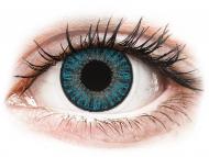 Сини контактни лещи - c диоптър - Сини (Blue) - TopVue Color daily - с диоптър (10лещи)