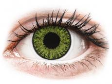 Свежо зелени (Fresh Green) - TopVue Color daily- с диоптър (10лещи)