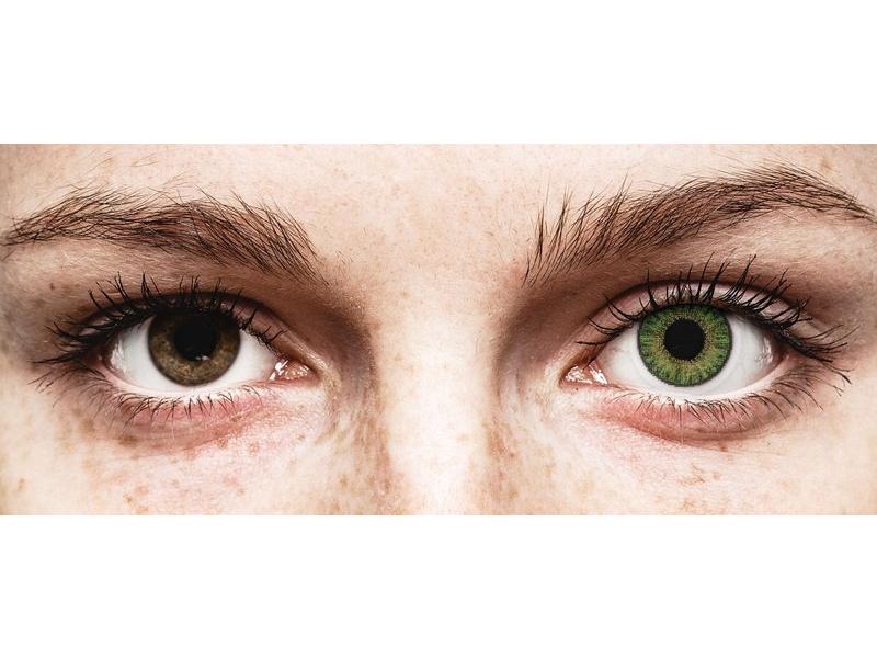 Зелени (Green) - TopVue Color daily - с диоптър (10лещи)