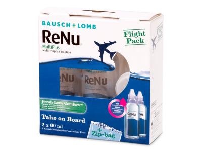 Разтвор ReNu Multiplus flight pack 2 x 60 ml  - По-старт дизайн