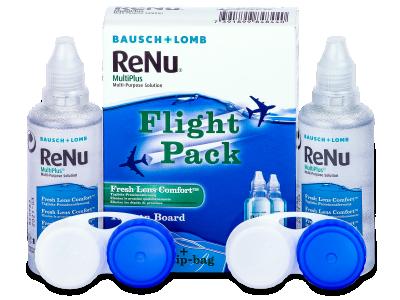 Разтвор ReNu Multiplus flight pack 2 x 60 ml