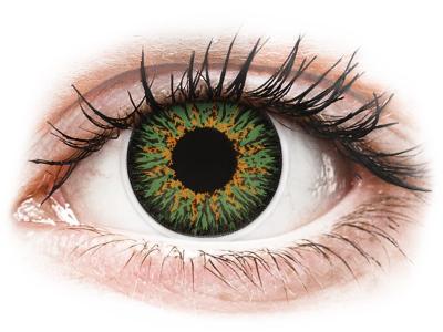 Зелени (Green) - ColourVUE Glamour - с диоптър (2лещи)