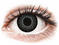 Сиви контактни лещи - без диоптър - Сиви (Grey) - ColourVUE Eyelush (2лещи)