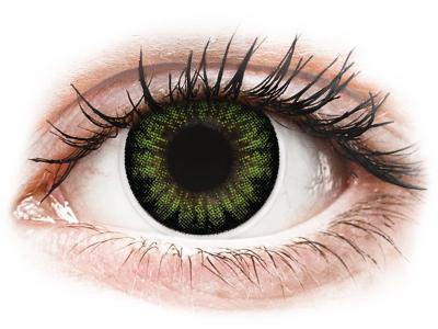 Зелени, парти (Party Green) - ColourVUE BigEyes (2лещи)