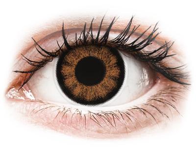 Секси кафяви (Sexy Brown) - ColourVUE BigEyes - с диоптър (2лещи)