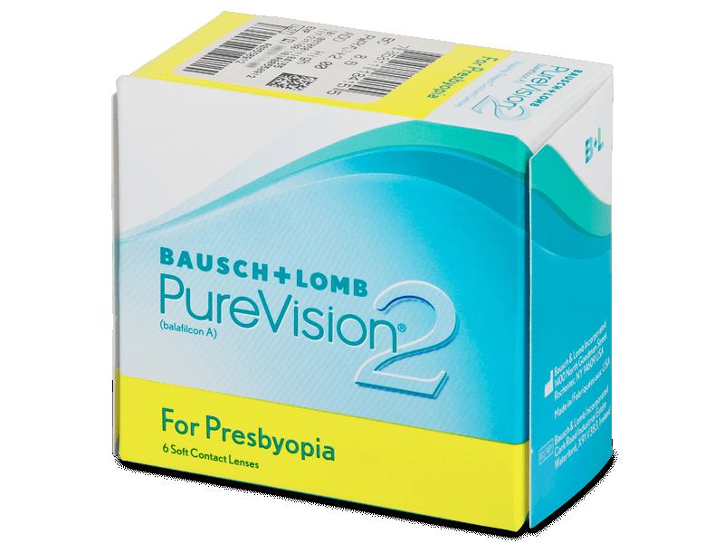 Purevision 2 for Presbyopia (6лещи) - Мултифокални лещи