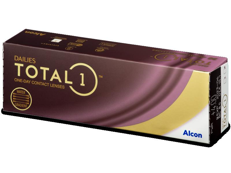 Dailies TOTAL1 (30лещи) - Еднодневни контактни лещи