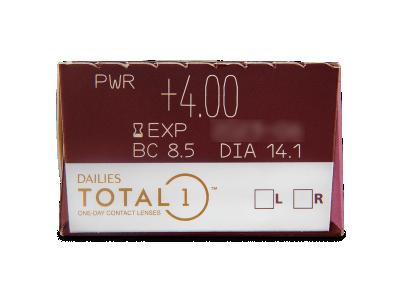 Dailies TOTAL1 (30лещи) - Преглед на параметри