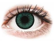 Цветни лещи - SofLens Natural Colors Jade - без диоптър (2 лещи)