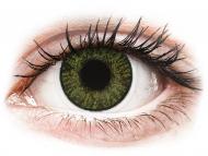Диоптрични цветни лещи - Зелени (Green) - FreshLook ColorBlends - с диоптър (2 лещи)