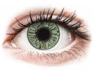 Диоптрични цветни лещи - Зелени (Green) - FreshLook Colors - с диоптър (2 лещи)