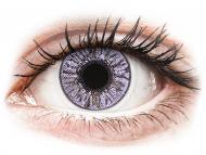 Лилави контактни лещи - без диоптър - Лилави (Violet) - FreshLook Colors (2 лещи)