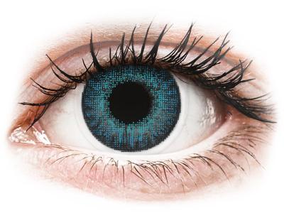 Брилянтно синьо (Brilliant Blue) - Air Optix Colors - с диоптър (2лещи)