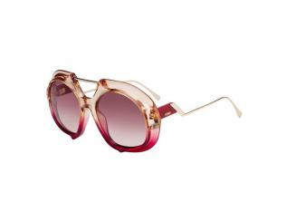 Овални слънчеви очила - Fendi FF 0316/S C48/3X