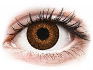 Диоптрични цветни лещи - Expressions Colors Brown - с диоптър (1 леща)