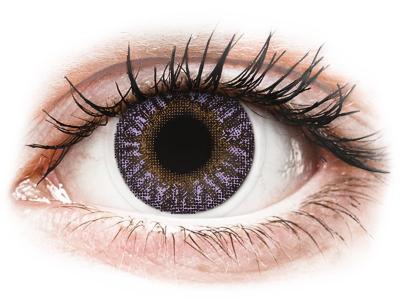Violet - TopVue Color - с диоптър (2 лещи)