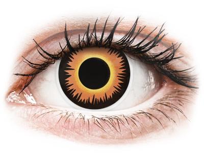 Оранжеви, върколак (Orange Werewolf) - ColourVUE Crazy Lens - еднодневни (2 лещи)
