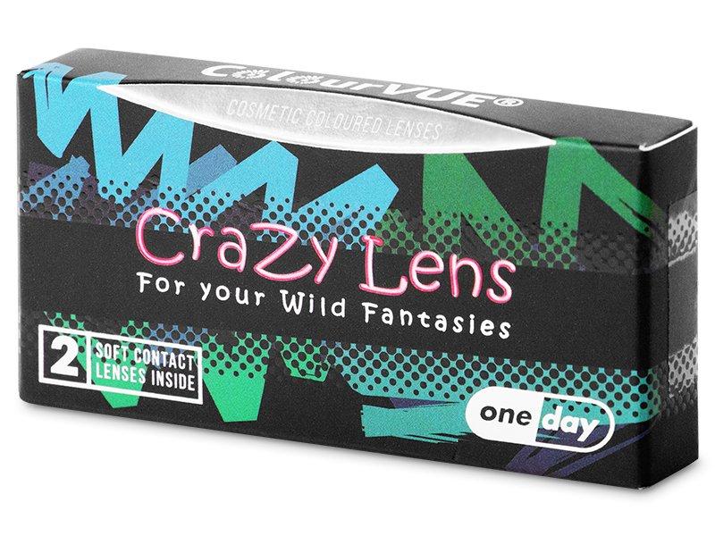 Здрач (Twilight) - ColourVUE Crazy Lens - еднодневни (2 лещи)