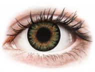 Диоптрични цветни лещи - Зелени (Green) - ColourVue One Day TruBlends - с диоптър (10 лещи)