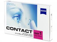 Лещи, разтвори и капки за очи. Ниска цена - Carl Zeiss Contact Day 1 (30 лeщи)
