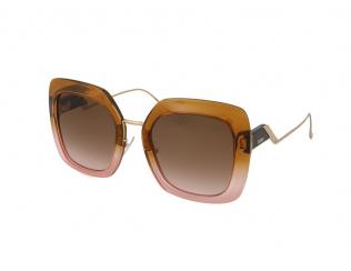 Слънчеви очила Уголемени - Fendi FF 0317/S DQ2/M2