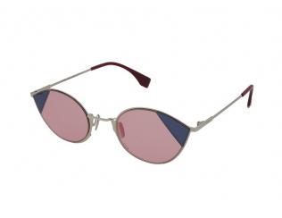 Овални слънчеви очила - Fendi FF 0342/S AVB/U1