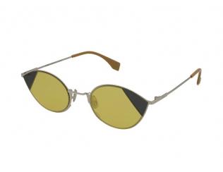 Овални слънчеви очила - Fendi FF 0342/S B1Z/HO