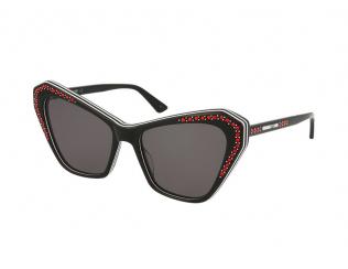 Слънчеви очила - Котешки очи - Alexander McQueen MQ0151S 001
