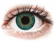 Зелени контактни лещи - без диоптър - Air Optix Colors - Turquoise - без диоптър (2 лещи)