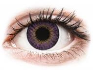 Лилави контактни лещи - без диоптър - Air Optix Colors - Amethyst - без диоптър (2 лещи)