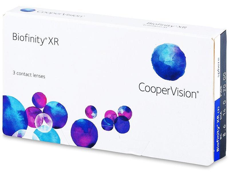 Biofinity XR (3лещи) - Месечни контактни лещи