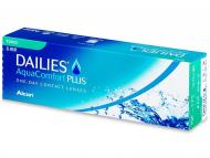 Торични контактни лещи за коригиране на астигматизъм - Dailies AquaComfort Plus Toric (30лещи)