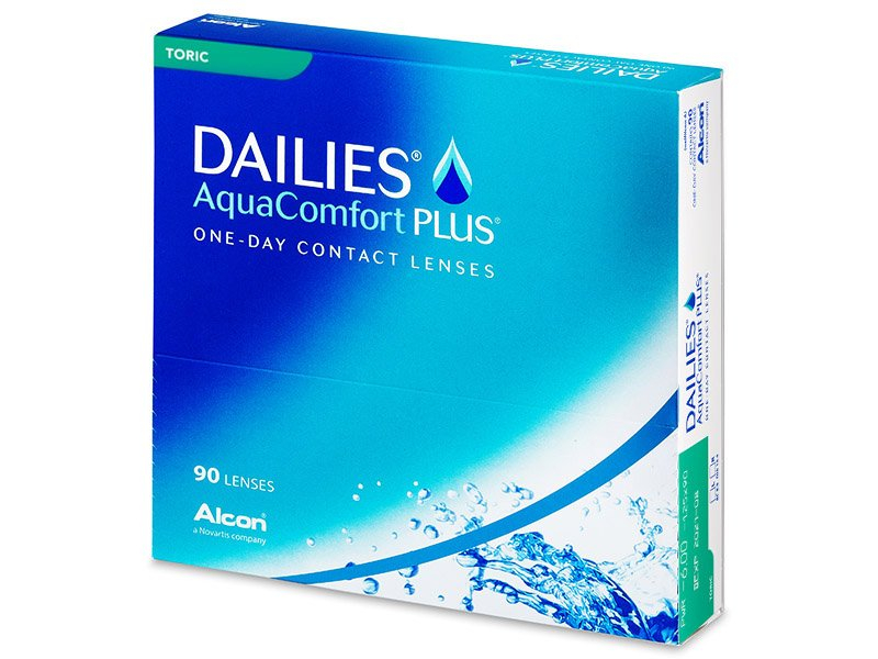 Dailies AquaComfort Plus Toric (90лещи) - Торични лещи