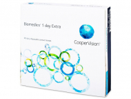 Еднодневни контактни лещи - Biomedics 1 Day Extra (90лещи)