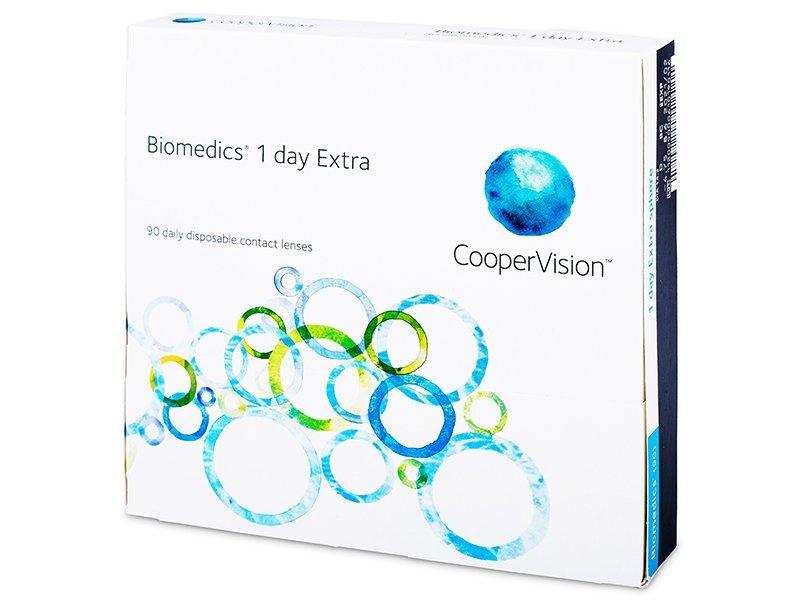 Biomedics 1 Day Extra (90лещи) - Еднодневни контактни лещи