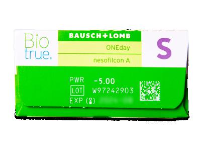 Biotrue ONEday (30лещи) - Преглед на параметри