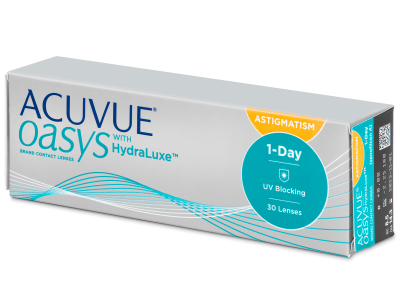 Acuvue Oasys 1-Day with HydraLuxe for Astigmatism (30 лещи)