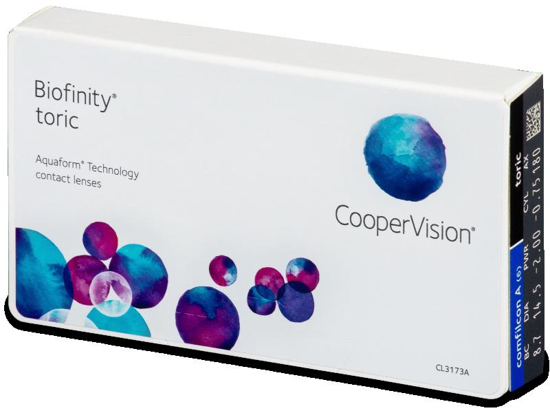Biofinity Toric (6лещи) - Торични лещи