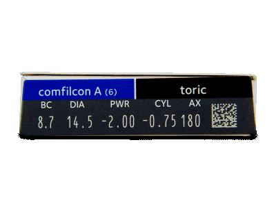 Biofinity Toric (6лещи) - Преглед на параметри