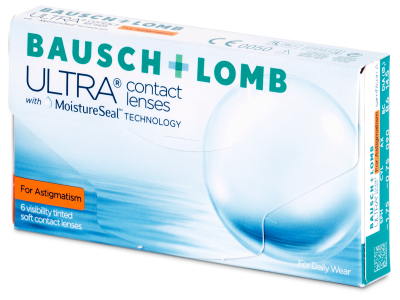 Bausch + Lomb ULTRA for Astigmatism (6 лещи)