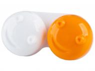 Контейнерчета за съхранение - Контейнерче за лещи 3D - оранжево