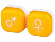 Контейнерчета за съхранение - Контейнерче за лещи Момче/момиче - жълто