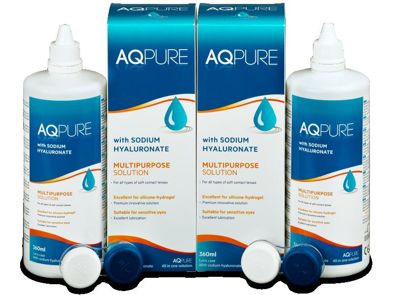 Разтвор AQ Pure 2 x 360 ml  - Икономичен пакет два разтвора