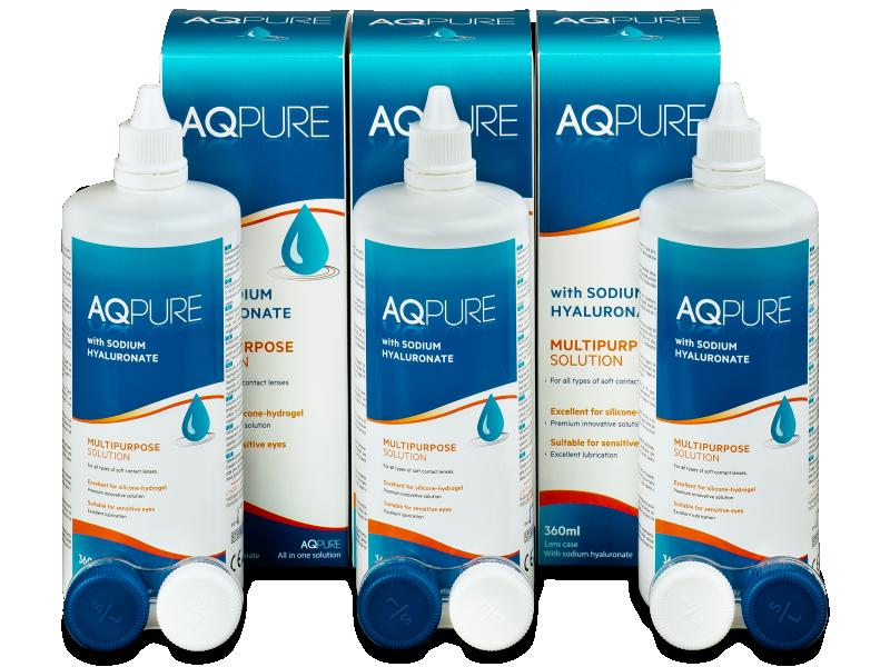 Разтвор AQ Pure 3 x 360 ml  - Икономичен пакет 3 разтвора